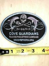 Official New Sea Shepherd Cove Guardian Patch Free Shipping! Save Japan Dolphins