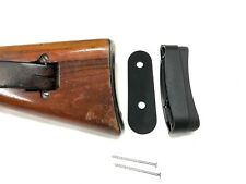 SCHMIDT RUBIN K31 RECOIL PAD EXTENSION SET - 30mm - Mod WYSS Made in Switzerland