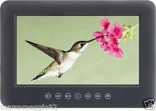 """Monitor 9"""" con lettore DVD/SD/USB e supporto da retro poggiatesta"""