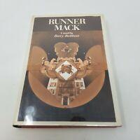 Runner Mack by Barry Beckham (First Edition, 1972, Dust Jacket, Baseball Fict)