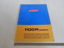 CATALOGO PARTI DI RICAMBIO ORIGINALE CARROZZERIA FIAT 1100 R FAMILIARE '68 2 ED.