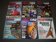 2008-2009 PREMIER GUITAR MAGAZINE LOT OF 9 ISSUES - GREAT COVERS - PB 696