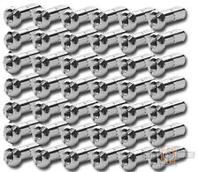 Custom Chrome Replacement Chrome Spoke Nipples Stock Length 42PCS 6mm BC26747 T