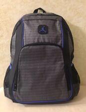 5bbbfac47af2 Nike Air Jordan Backpack Laptop Sleeves Side Pockets Light Graphite 9A1223- 783