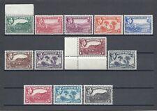 More details for montserrat 1938-48 sg 101a/12 mnh cat £110