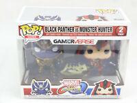 Black Panther Vs Monster Hunter Marvel VS Capcom Infinite Funko POP Figure