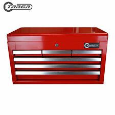 "TARGA 26"" 6 Drawer Tool Box MECHANICS TOOL CHEST Top Cabinet  RED TT26R"