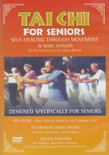 TAI CHI FOR SENIORS. SELF-HEALING THROUGH MOVEMENT. NEW DVD