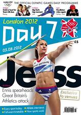 * OLYMPIC GAMES DAY 7 PROGRAMME LONDON 2012 *