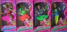 1987 Barbie & The Sensations Belinda Becky Bobsy 4 Pop Stars Muñecas Nrfb's