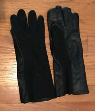 US Army Navy Military Flight Aviator Summer Gloves Black Sz 10 Type