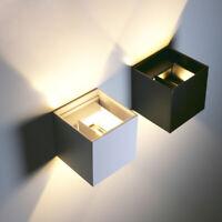 Modern 12W LED Wall Light Up Down Lamp Sconce Spot Lighting Hall Bedside Fixture