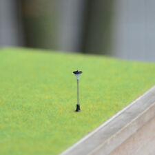 12 Stück N Skala  Warmweiß LEDs gemacht Modell Laternenpfahl einstel #A10N