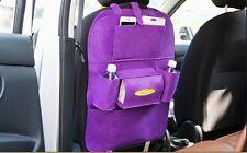Tidy Auto Car Back Seat Multi Pocket Storage Organizer Tissue Holder Felt Bag