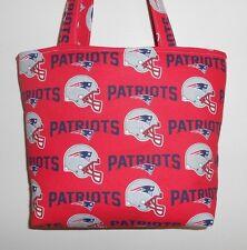 Handmade NFL New England Patriots Tote Bag Purse