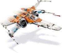 LEGO Star Wars  75273 POE DAMARON'S X WING FIGHTER.NO FIGURES.NO BOX