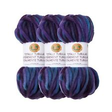 Lion Brand Yarn 933-200 Totally Tubular Yarn, Jellyfish (Pack of 3 Skeins)