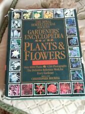 Royal Horticultural book of plants and flowers