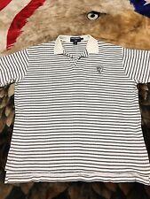 VTG 90s Polo Sport Ralph Lauren Crest Shield Logo Shirt Mens XL Spell Out Rugby