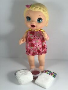 """Babie Alive 12"""" Doll Eats and poos  (166)"""