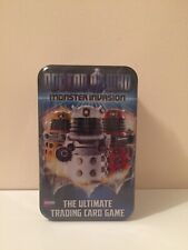 Dr Who Monster Invasion The Ultimate Trading Card Game Tin Brand New And Sealed