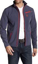 Spyder Xt.L Ombre Blue Red Water Resistant Jacket Men's Medium M FREE SHIP $149