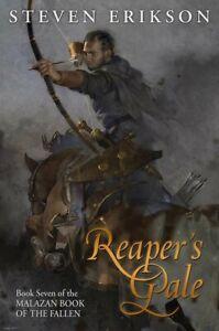 REAPERS GALE Malazan 7 Steven Erikson US SIGNED LTD 1st ED Subterranean Press