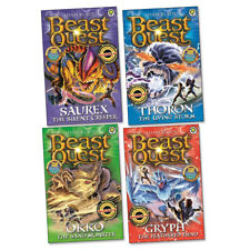 Beast Quest Series 17 Book Pack Collection (4 books) RRP £19.96