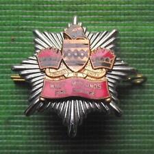More details for  obsolete enamel vintage cap badge west midlands fire brigade service a