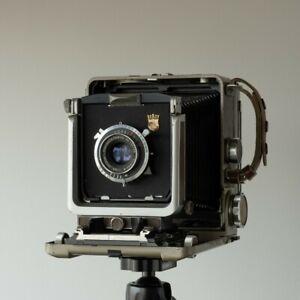 Wista 45D large format 4x5 field camera w/ Fujinar-W 150mm lens