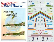 AEROMASTER 48-472 - DECALS 1/48 - PHANTOMS OVER VIETNAM Pt. 2 - NUOVO