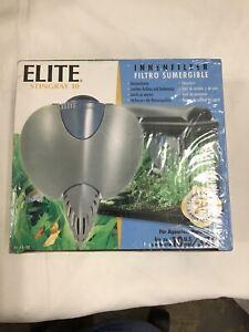 Elite Stingray 10 Underwater Filtre Submersible For 10 Gal Aquarium