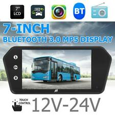7 inch LCD Touch Car Rearview Mirror Monitor MP5 Player Bluetooth 3.0 /USB/TF/FM