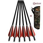 Archery Crossbow Arrows12P +1PCS Archery Quiver Arrow Holder Bow Camo Shoulder