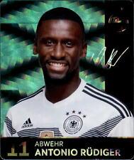 REWE WM 2018 Sammelkarten 11 - Antonio Rüdiger GLITZER