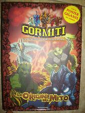 GORMITI - LE ORIGINI DEL MITO,SENZA POSTER - ED:MONDADORI - ANNO:2008 (BP)