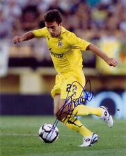 Giuseppe Rossi Villarreal Soccer Signed 8x10 Photo Coa!