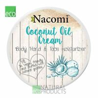 Nacomi Vegan Natural Coconut Oil Cream Body Hands Face Moisturizer 100ml