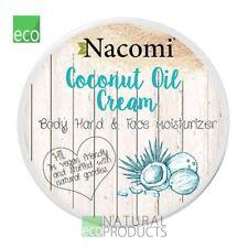 Nacomi Vegan Natural Coconut Oil Cream Body Hands Face Moisturizer 100ml