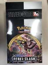 Pokémon Sword & Shield Rebel Clash Build & Battle Prerelease 10 Ct Sealed Box!