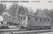 AK UNREAD Morop Congress; Sweden litt. MA 964 Baden Model järnvägs (G2560)
