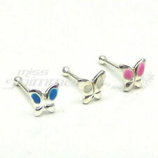 Enamel Stud Nose Piercing Jewellery