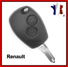 Carcasa De Telemando 2 Botones Renault Megane/Scenic/Twingo + Llave Virgen