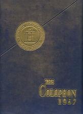 "REPRINT: 1957 Elmer L. Meyers High School Yearbook - ""Colophon"" Wilkes-Barre PA"