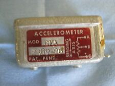 Genisco Model: GMA 2389-26 Accelerometer.  Range: +/- 50G  <