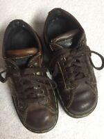 Dr. Martens Men's Brown Leather Lace Up Casual Shoes Size Sz 5 M