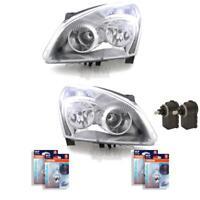 Scheinwerfer Set für Nissan QASHQAI J10/JJ10 mit Blinker inkl. Motor