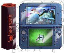 Skinomi Clear FULL BODY Skin+Screen Protector Film For Nintendo 3DS XL 2015