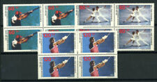 Germany 1988 Mi. 801-803 MNH 100% Block of four, Olympic Games, Seoul, Sports
