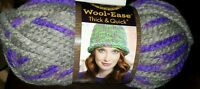 Lion Brand Wool Ease Thick And Quick Super Bulky Yarn - 516 Purple Martin